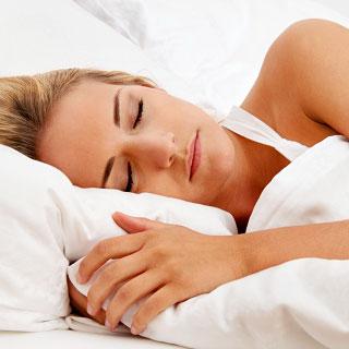 Foto: Schlafende Frau